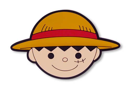 ONE PIECE/ワンピース/ルフィセンパイ ピンバッヂ
