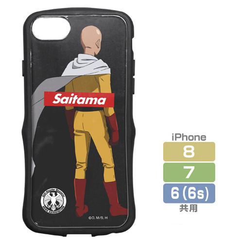 ワンパンマン/ワンパンマン/サイタマ TPUバンパー iPhoneケース [6・7・8共用]