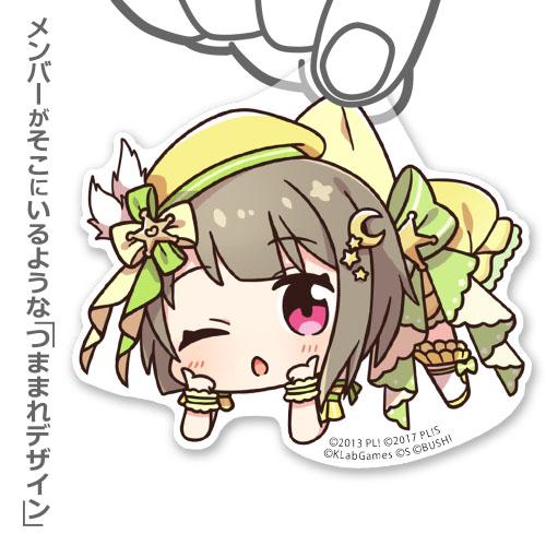 ラブライブ!/ラブライブ!虹ヶ咲学園スクールアイドル同好会/中須かすみ アクリルつままれストラップ