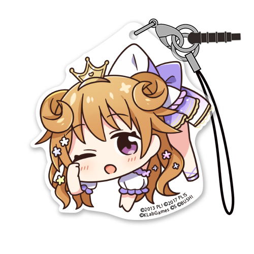ラブライブ!/ラブライブ!虹ヶ咲学園スクールアイドル同好会/近江彼方 アクリルつままれストラップ