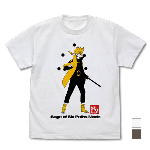NARUTO-ナルト-/NARUTO-ナルト- 疾風伝/六道仙人モード ナルト Tシャツ