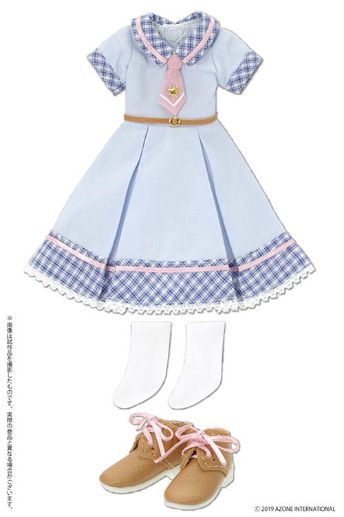 AZONE/Pureneemo Original Costume/POC482-LBL【1/6サイズドール用】PNS まじかる学園制服セット
