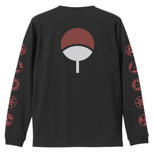 NARUTO-ナルト-/NARUTO-ナルト- 疾風伝/写輪眼 袖リブロングスリーブTシャツ