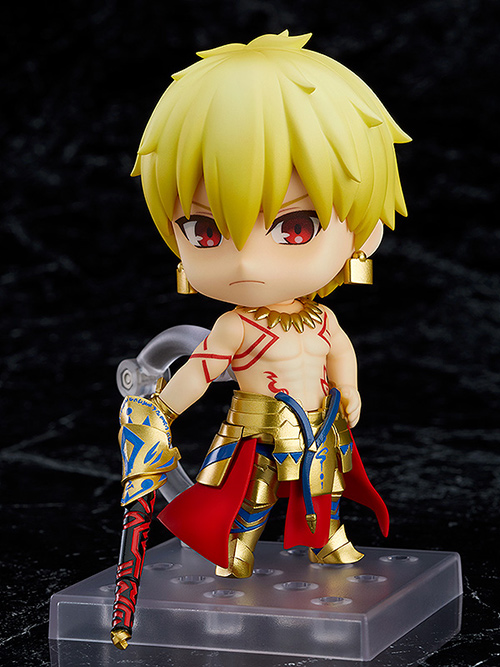 Fate/Fate/Grand Order/ねんどろいど アーチャー/ギルガメッシュ 第三再臨Ver. ABS&PVC 塗装済み可動フィギュア