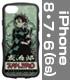 竈門炭治郎 TPUバンパー iPhoneケース [6・7・8..