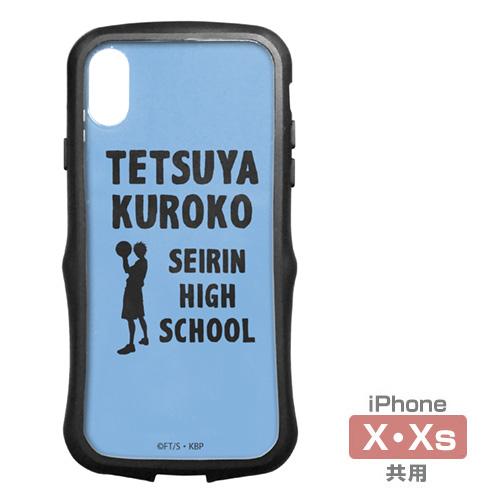 黒子のバスケ/黒子のバスケ/黒子テツヤ TPUバンパー iPhoneケース [X・Xs共用]