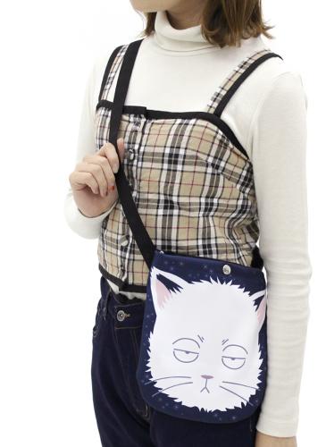 銀魂/銀魂/猫になった銀さん フルカラーサコッシュ