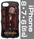 竈門禰豆子 TPUバンパー iPhoneケース [6・7・8..