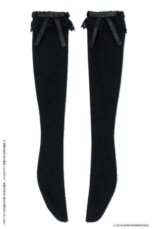 AZONE/Pureneemo Original Costume/FFC003【45~50cmドール用】45 レースリボンニーソックス