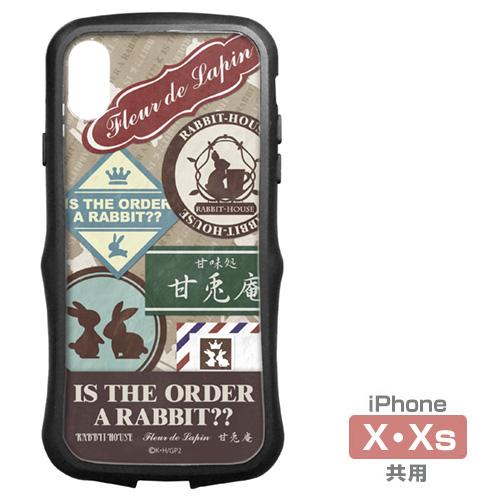 ご注文はうさぎですか?/ご注文はうさぎですか??/ご注文はうさぎですか?? TPUバンパー iPhoneケース [X・Xs共用]