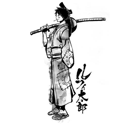 ONE PIECE/ワンピース/ルフィ太郎 Tシャツ