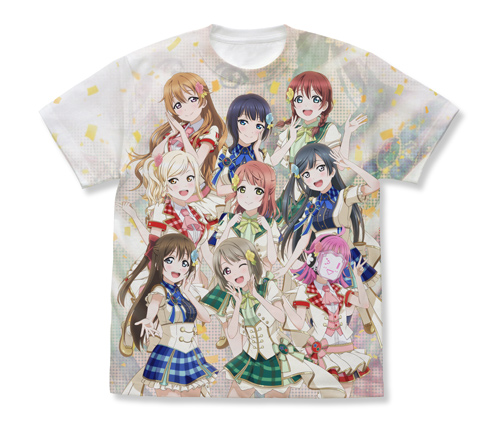 ラブライブ!/ラブライブ!虹ヶ咲学園スクールアイドル同好会/虹ヶ咲学園スクールアイドル同好会 フルグラフィックTシャツ