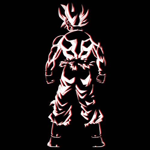 ドラゴンボール/ドラゴンボール超/悟空の背中 Tシャツ