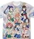 Aqours フルグラフィックTシャツ