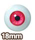 オビツ製作所/Obitsu Body/EY18-G グラスティックアイ 18mm