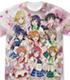 μ's フルグラフィックTシャツ