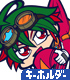 榊遊矢 ライディングスーツVer. つままれキーホルダー