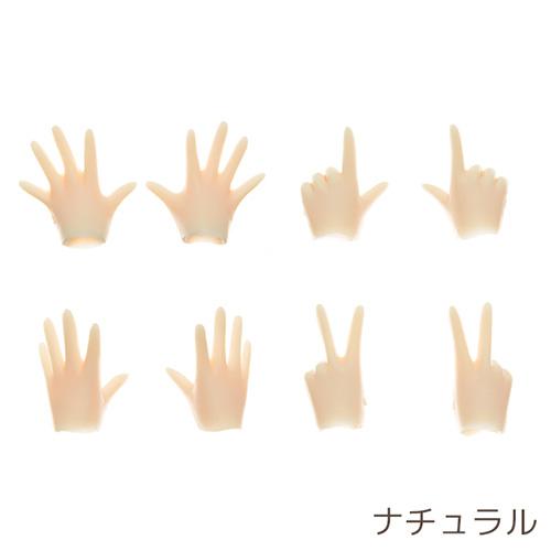 オビツ製作所/Obitsu Body/22AC-FP01 オビツ22 用 ハンドパーツセットA