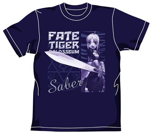 Fate/Fate/tiger colosseum/タイガーころしあむ・セイバーTシャツ