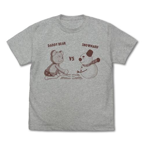 ちはやふる/ちはやふる3/ダディベアvsスノー丸 Tシャツ