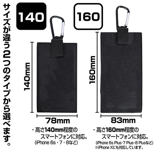 ラブライブ!/ラブライブ!サンシャイン!!/黒澤ダイヤ フルカラーモバイルポーチ140 ゴスロリVer.