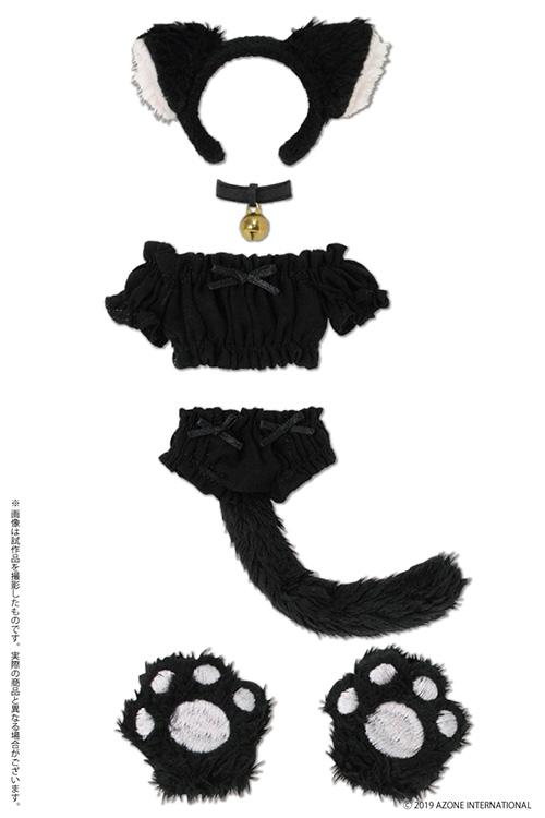AZONE/Pureneemo Original Costume/POC489【1/6サイズドール用】PNS ふわくしゅ♡にゃんこセット