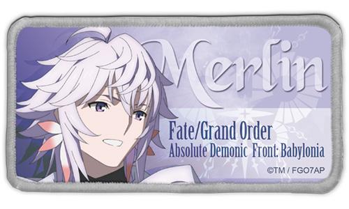 Fate/Fate/Grand Order -絶対魔獣戦線バビロニア-/FGOバビロニア マーリン 脱着式フルカラーワッペン