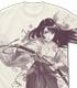 天宮さくら オールプリントTシャツ