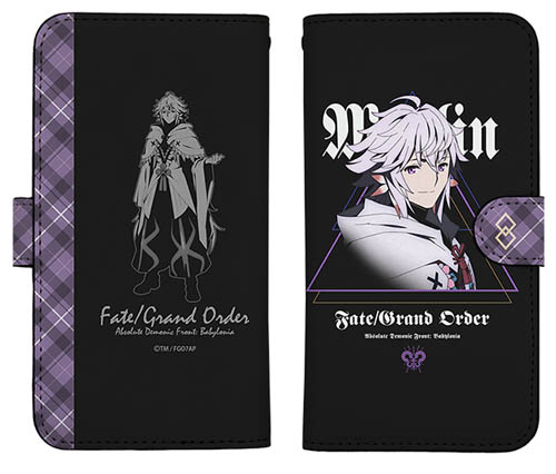 Fate/Fate/Grand Order -絶対魔獣戦線バビロニア-/FGOバビロニア マーリン 手帳型スマホケース138