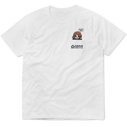 ガールズ&パンツァー/ガールズ&パンツァー 最終章/西住みほ フルカラーポケットTシャツ