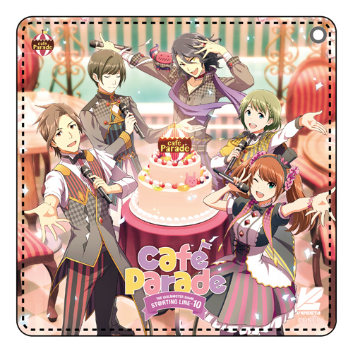 THE IDOLM@STER/アイドルマスター SideM/アイドルマスター SideM ST@RTING LINE -10 CDパスケース Café Parade ver.