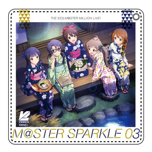 THE IDOLM@STER/アイドルマスター ミリオンライブ!/アイドルマスター ミリオンライブ! M@STER SPARKLE 03 CDパスケース