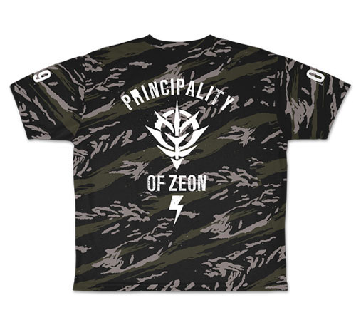 ガンダム/機動戦士ガンダム/ジオン冷感両面フルグラフィックTシャツ