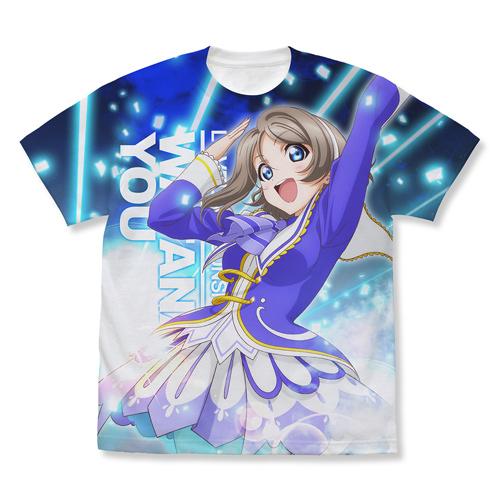 渡辺 曜 フルグラフィックTシャツ Over the Rainbow Ver.