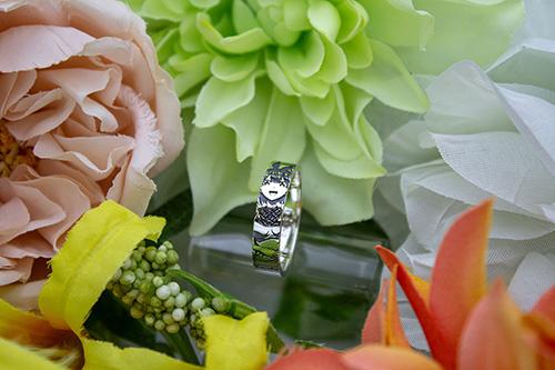 五等分の花嫁/五等分の花嫁/中野四葉 シルバーリング
