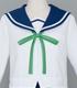 星咲高校女子制服冬服ブラウスセット