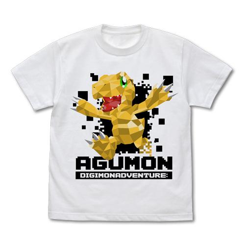 デジモンシリーズ/デジモンアドベンチャー:/アグモン ポリゴングラフィック Tシャツ
