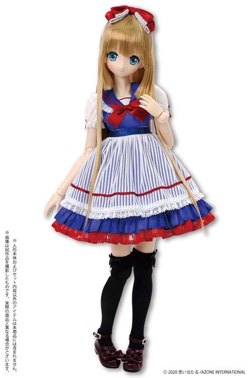 AZONE/50 Collection/FFC006 【45~50cmドール用】45 スウィートセーラーワンピースセット