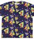 ソニック・ザ・ヘッジホッグ総柄 両面フルグラフィックTシャツ