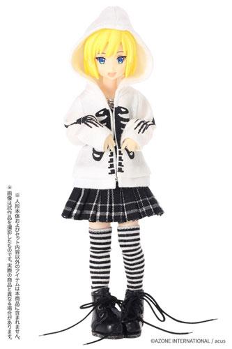 AZONE/ピコニーモコスチューム/PIC333【1/12サイズドール用】1/12 チェックプリーツスカート