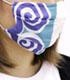 銀さん着物柄 マスク