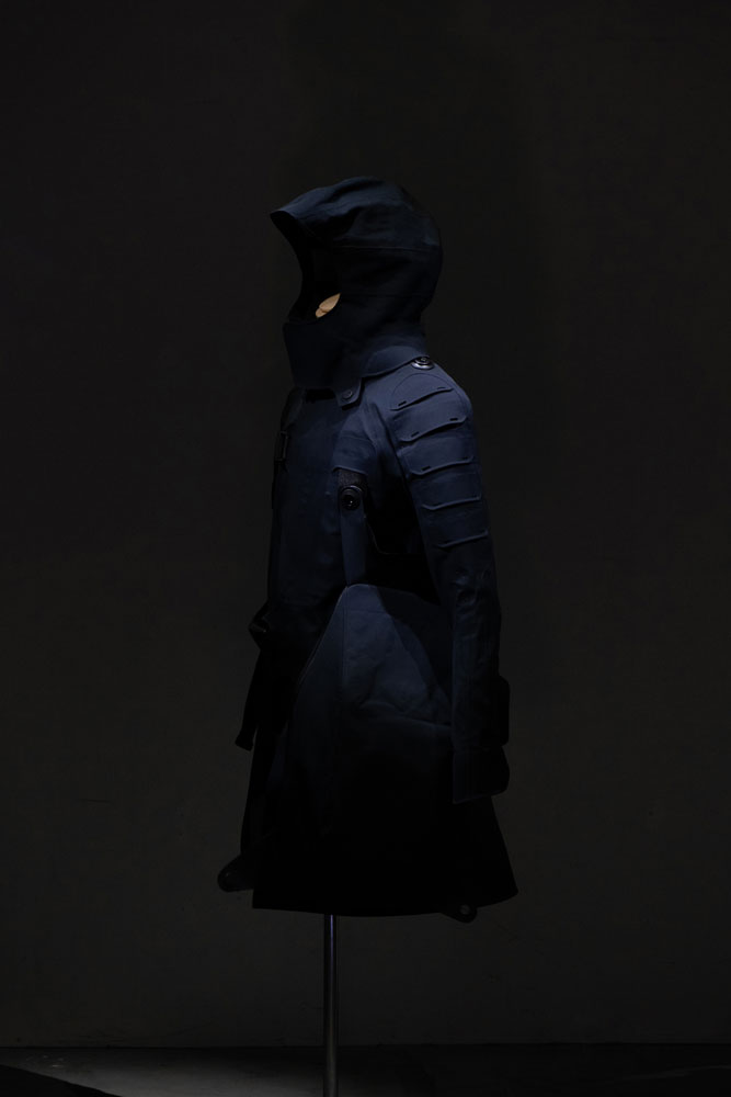 """""""Ghost in the Shell: SAC_2045"""" Ultimate tech coat"""