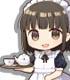 CURE MAID CAFE'/CURE MAID CAFE'/★限定★キュアメイドカフェ ホットチョコレートつき マグカップ&アクリルコースター・スタンドセット