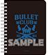 新日本プロレスリング/新日本プロレスリング/新日本プロレスリング リングノート BULLET CLUB ver.
