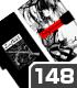 デート・ア・ライブ/デート・ア・ライブIV/時崎狂三モノトーンVer. 手帳型スマホケース148