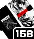 時崎狂三モノトーンVer. 手帳型スマホケース158
