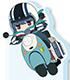 ゆるキャン△/ゆるキャン△/ゆるキャン△ SEASON2 お出かけふぉとすた!リンon スクーター