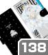 デート・ア・ライブ/デート・ア・ライブIV/<エンジェル>鳶一折紙 手帳型スマホケース138