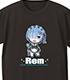 Re:ゼロから始める異世界生活 TシャツC[レム]