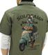志摩リンとスクーター フルカラーワークシャツ